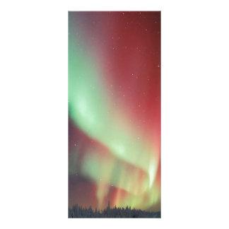 Alaskan Aurora Borealis Rack Card