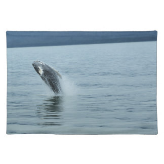 Alaskan baby whale placemat