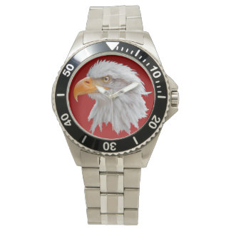 Alaskan Bald Eagle Watch (Red)