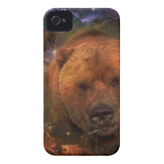 Alaskan Bear with Cubs Case-Mate iPhone 4 Case