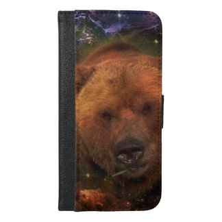 Alaskan Bear with Cubs iPhone 6/6s Plus Wallet Case