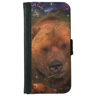 Alaskan Bear with Cubs iPhone 6/6s Wallet Case