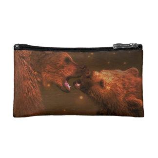 Alaskan Bear with Cubs Makeup Bag