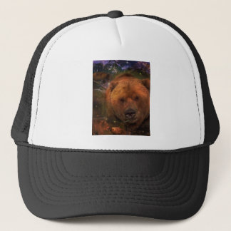 Alaskan Bear with Cubs Trucker Hat