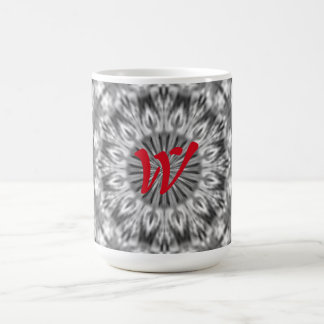 Alaskan Black/White Custom Native Tribal Pattern Coffee Mug