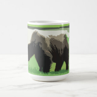Alaskan Broen Bear Coffee Mug