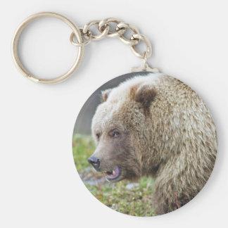 Alaskan Brown Bear Key Chain