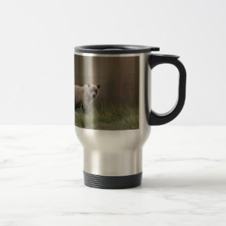 Alaskan Brown Bear Travel Mug