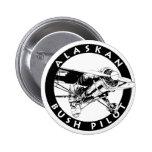 Alaskan Bush Pilot Button