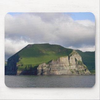 Alaskan Cliffs Landscape Mouse Pad