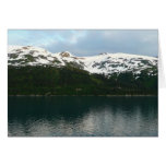 Alaskan Coast at Dusk Travel Photography Card