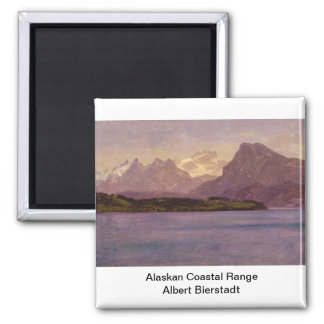 Alaskan Coastal Range Fridge Magnet