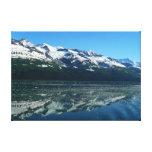Alaskan Coastline Beautiful Nature Photography Canvas Print