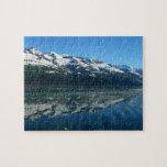 Alaskan Coastline Beautiful Nature Photography Jigsaw Puzzle