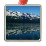 Alaskan Coastline Beautiful Nature Photography Metal Ornament