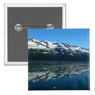 Alaskan Coastline Beautiful Nature Photography Pinback Button