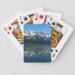 Alaskan Coastline Beautiful Nature Photography Playing Cards