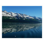 Alaskan Coastline Beautiful Nature Photography Poster