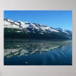 Alaskan Coastline Beautiful Nature Photography Poster