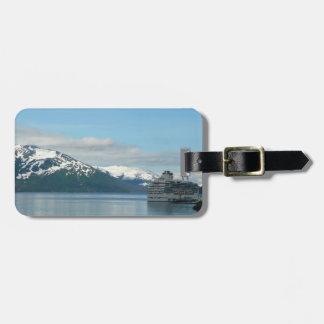Alaskan Cruise Vacation Travel Photography Bag Tag