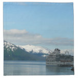 Alaskan Cruise Vacation Travel Photography Cloth Napkin