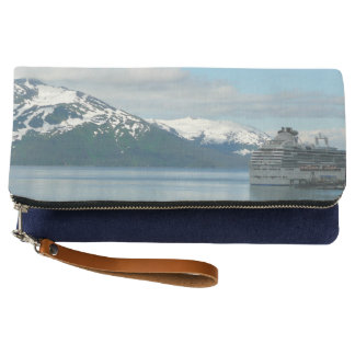 Alaskan Cruise Vacation Travel Photography Clutch