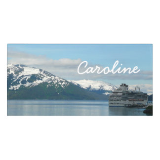 Alaskan Cruise Vacation Travel Photography Door Sign