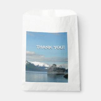 Alaskan Cruise Vacation Travel Photography Favor Bag