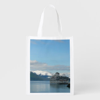 Alaskan Cruise Vacation Travel Photography Grocery Bag
