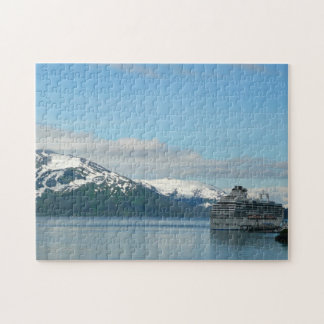 Alaskan Cruise Vacation Travel Photography Jigsaw Puzzle