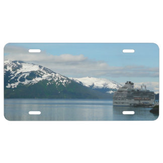 Alaskan Cruise Vacation Travel Photography License Plate