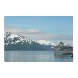Alaskan Cruise Vacation Travel Photography Placemat
