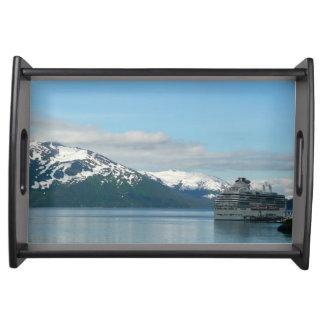 Alaskan Cruise Vacation Travel Photography Serving Tray