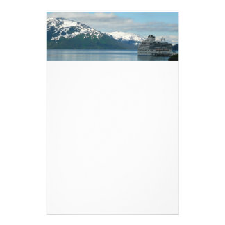 Alaskan Cruise Vacation Travel Photography Stationery