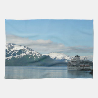 Alaskan Cruise Vacation Travel Photography Towels