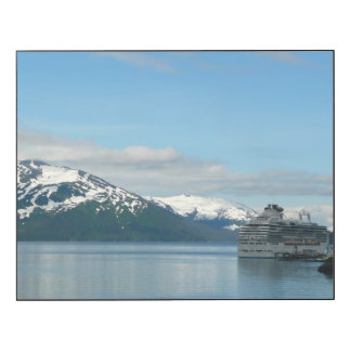 Alaskan Cruise Vacation Travel Photography Wood Print