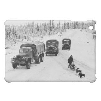 Alaskan Dogsled Army Trucks iPad Mini Cases