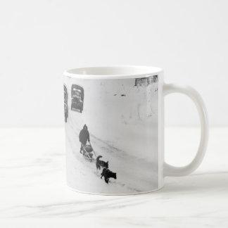 Alaskan Dogsled & Army Trucks Coffee Mugs