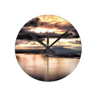Alaskan Dreams wall clock