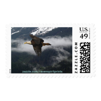 Alaskan Eagle Bald Eagle Inspirational Stamp