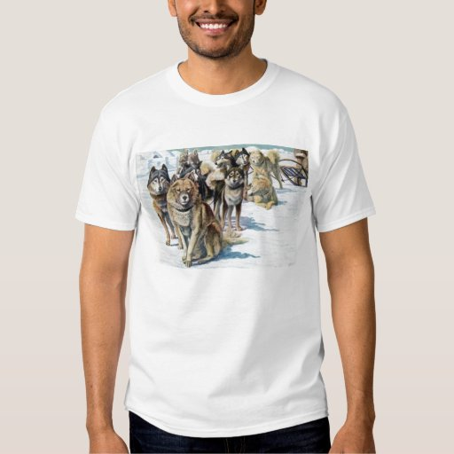 Alaskan Eskimo sled dog shirt