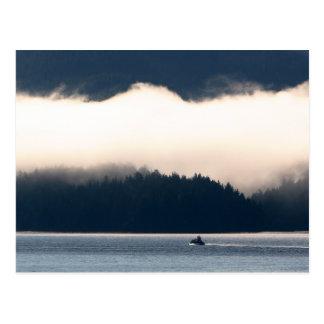 Alaskan Foggy Morning Products Postcards