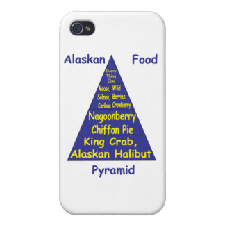 Alaskan Food Pyramid iPhone 4 Covers
