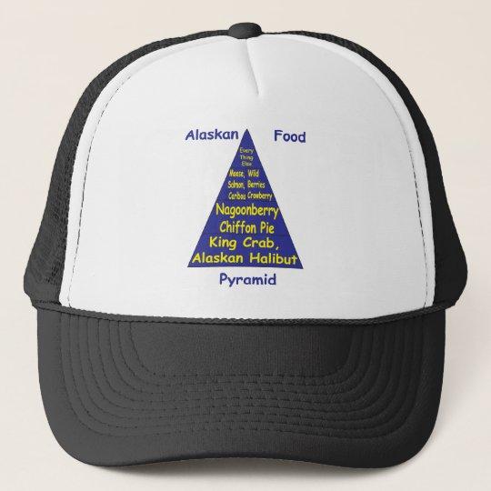 Alaskan Food Pyramid Trucker Hat