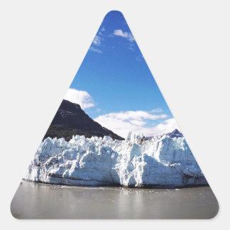 Alaskan Glacier Triangle Sticker