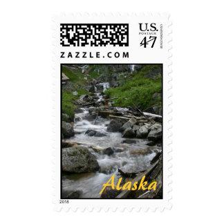 Alaskan Gold Mine Postage