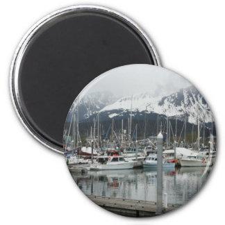 Alaskan Harbor magnet