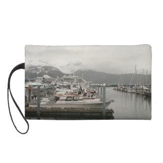 Alaskan Harbor mini-purse Wristlet Purse