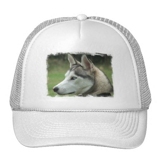 Alaskan Husky Baseball Cap Trucker Hat