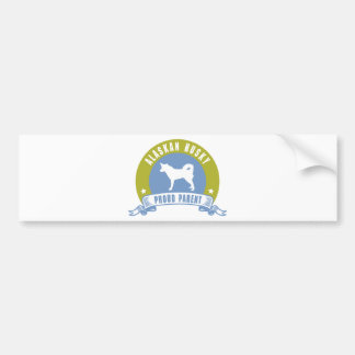 Alaskan Husky Bumper Stickers